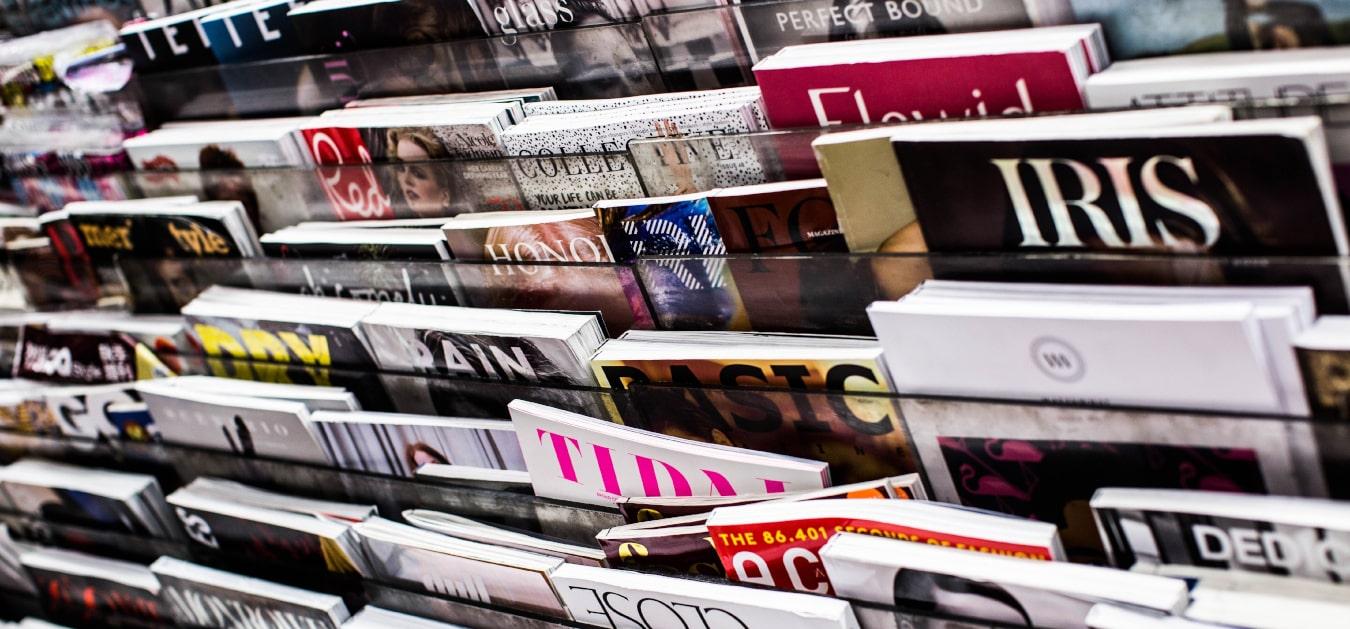 Vous avez le choix des magazines de votre salle d'attente
