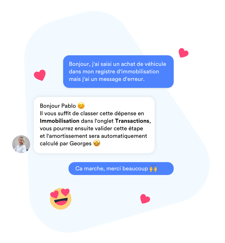 georges c'est aussi un service client attentionné