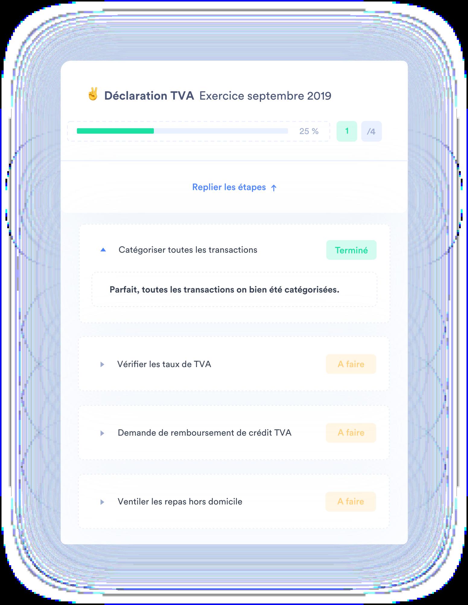 Déclaration de TVA automatisée