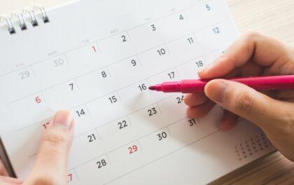 Le calendrier fiscal 2020 des BNC