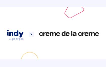 Découvrez Crème de la crème, notre nouveau partenaire !