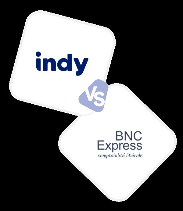 Comparez Indy à BNC Express