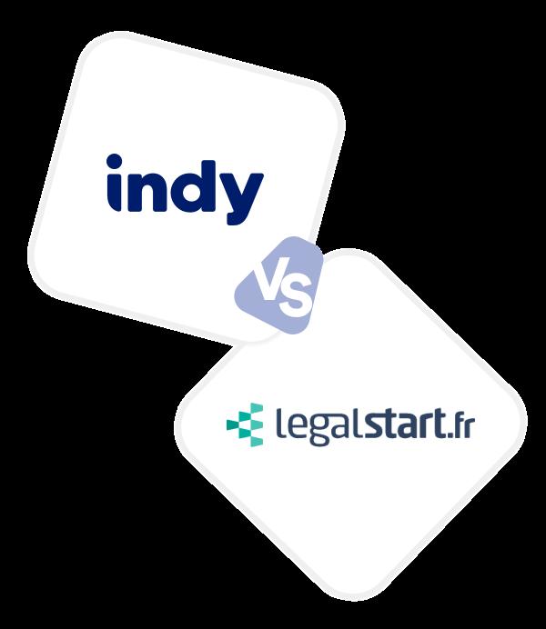 Comparez Indy à Legalstart