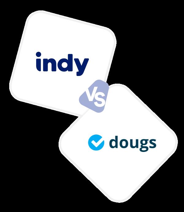 Comparez Indy à Dougs