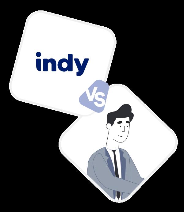 Comparez Indy à un Expert-Comptable