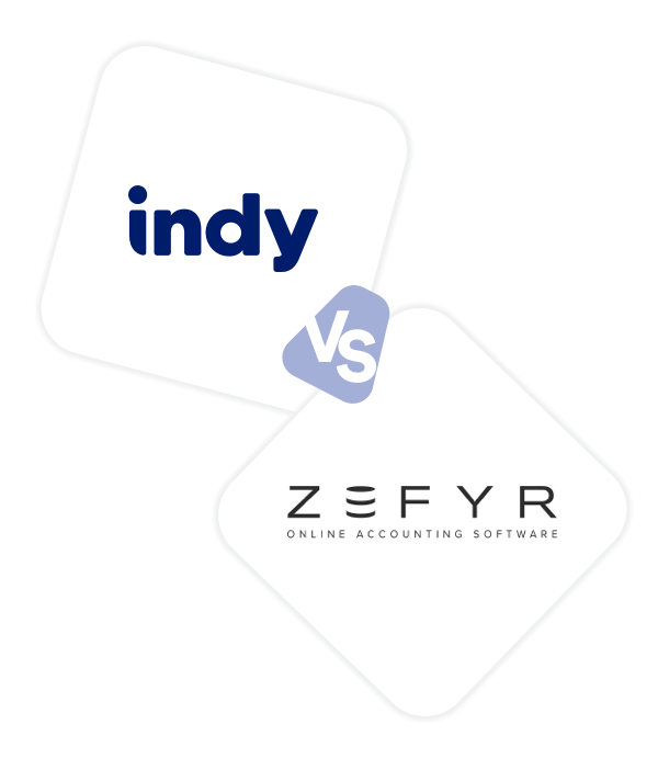 Comparez Indy à Zefyr