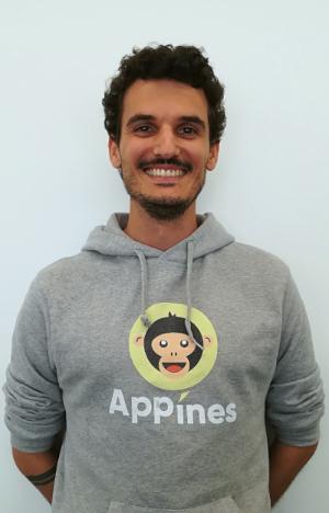 Adrien Bourzat, président et fondateur d'App'Ines