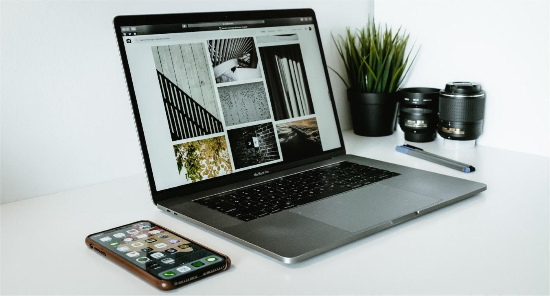 Site internet pour un photographe