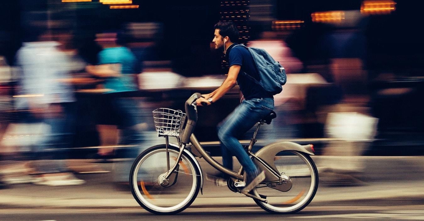 Vélo partagé
